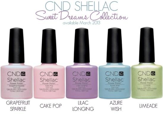 CND Shellac Spring 2013